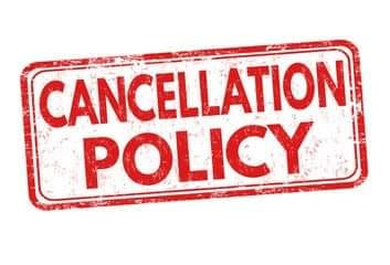 WEATHER/CANCELLATION POLICY